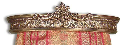 The Casale Gilded Gold Bed Crown Corona