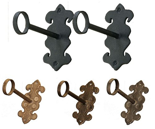 Forged Gothic Brackets