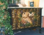 Decoupage Small Chest